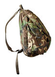 backpack στρατιωτικό στοκ εικόνες