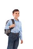 backpack σχολείο κατσικιών Στοκ εικόνα με δικαίωμα ελεύθερης χρήσης