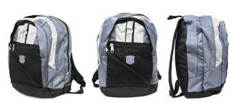 backpack σύνολο Στοκ Εικόνες