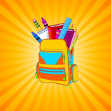 backpack σύνολο ελεύθερη απεικόνιση δικαιώματος