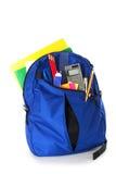 backpack σχολείο Στοκ Εικόνες
