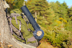 backpack στοκ φωτογραφία