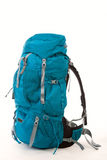 Backpack. Hiking Backpack,  over white background Stock Photography