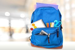 Free Backpack Royalty Free Stock Photos - 58608088