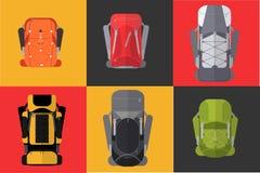 backpack ilustração do vetor
