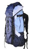 Backpack. Isolated over white background Stock Photos