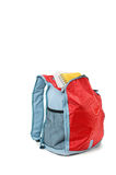 Backpack with books royalty free stock photography
