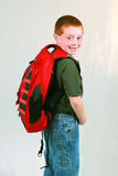 Backpack Boy Stock Photos