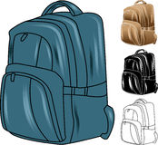 Backpack Royalty Free Stock Photos