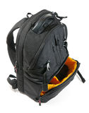 Backpack for camera Royalty Free Stock Images