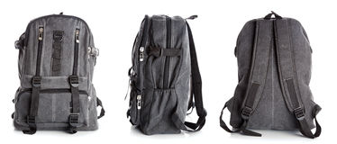 Backpack with clipping path Stock Photo