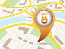 Backpack icon illustration Stock Image