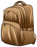 Backpack illustration Stock Photography