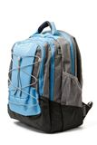 Backpack isolated Stock Images