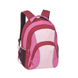 Backpack isolated on white background. One backpack isolated on white background Royalty Free Stock Image