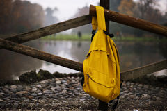 Backpack isolated on white background w/clipping Stock Image