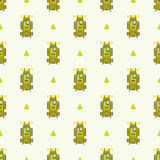 Backpack pattern Royalty Free Stock Photography
