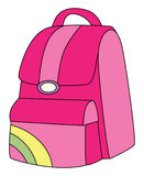 Backpack pink Stock Photos