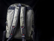Backpack Rear Royalty Free Stock Images