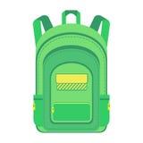 backpack schoolbag ilustração stock