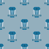 Backpack seamless pattern Stock Photos