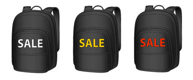 Backpack in the  Royalty Free Stock Photos