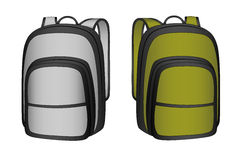 Backpack in the  Royalty Free Stock Photography