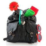 Backpack traveling Stock Photos