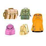 Backpack vector illustration Stock Photography