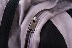 Backpack Zipper Stock Photos