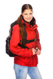backpacker Стоковое Изображение RF