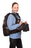 Backpacker Stock Photography