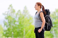 Backpacker Royalty Free Stock Photos