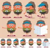 Backpacker libre illustration
