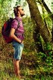 backpacker fotografie stock