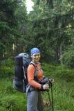 backpacker immagini stock