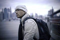 Backpacker Fotografía de archivo