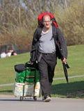 Backpacker mężczyzna Fotografia Royalty Free