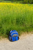 Backpacker rest Royalty Free Stock Photography