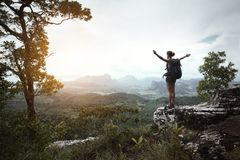 Backpacker Royalty Free Stock Photo