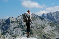 Backpackers Imagens de Stock Royalty Free