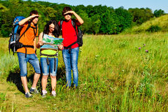 Backpackers Royalty Free Stock Photography
