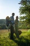 backpackers fotografía de archivo