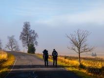 2 backpackers Стоковая Фотография RF
