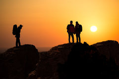 Backpackers Royalty Free Stock Photos
