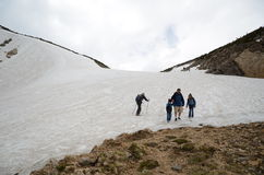 Backpackers w Kolorado Obraz Stock