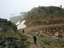 backpacking συριστήρας βουνών Στοκ Φωτογραφία