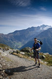 Backpacking Stock Image