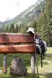 Backpacking through Austria Royalty Free Stock Photos