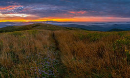 Backpacking and Camping Along The Appalachian Trail 2 Stock Photo